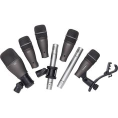 Samson - DK700 Series Drum Microphone Kit (7-piece)