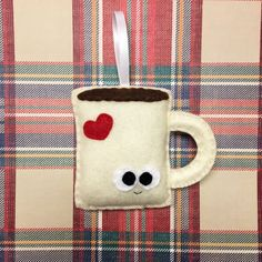 837da8a919d Coffee Mug Ornament Christmas Ornament Albert the Coffee Mug