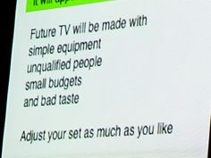 Brian Eno predicts YouTube, circa 1991.