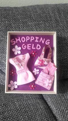 Shopping Gutschein Aus Papier Geschenke Basteln Birthday Gifts