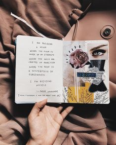 [from Yesterday I was the moon pg 14] by Noor Unnahar || journaling ideas inspiration diy craft collage scrapbook scrapbooking notebook diary spread, tumblr indie pale grunge hipsters aesthetic beige handwritten, instagram creative photography artists women writers of color poetic artsy, words quotes ||