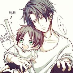"Baby eren and levi heichou << ""Quiet brat... I'm trying to be sexy""<< levi doesn't have to try to be sexy"