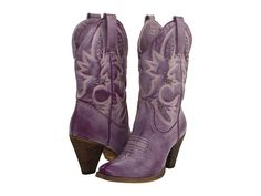 I know we already have our shoes, but these are purple cowboy boots! Purple Cowboy Boots, Western Boots, Cowboy Accessories, Purple Accessories, Purple Jewelry, Shades Of Purple, Purple Haze, Shoe Boots, Shoe Bag