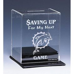 Miami Dolphins NFL Coin Bank