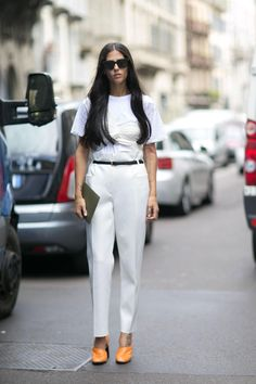 101 Incredible Street Style Snaps Straight From Milan Fashion Week | StyleCaster