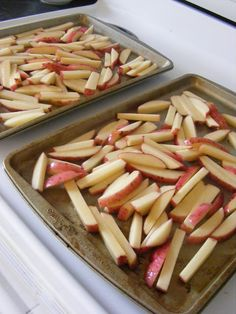 Perfect oven red potato fries