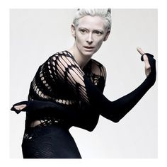 틸다 스윈튼 (Tilda Swinton) ❤ liked on Polyvore
