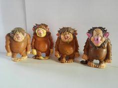 David de Kabouter: 4 Trollen David the Gnome: 4 Trolls