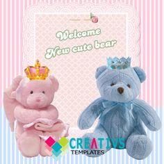 urso principe e princesa Princess Teddy bear