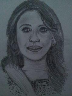 A sketch in pencil