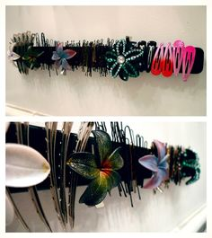 Ikea Hack: Magnetic Hair Accessory Organizer!