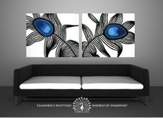 Hey, I found this really awesome Etsy listing at http://www.etsy.com/listing/109281065/my-pride-duo-peacock-feather-abstract