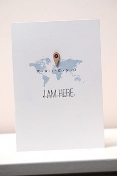 The most PERFECT card I've ever seen <3 I Am Here by Els Brigé at @Studio_Calico