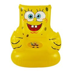 Cheap baby seat, Buy Quality baby chair seat directly from China chair baby Suppliers: For Kid Years Old Cute Portable Cartoon Sponge Bob Children's Toy Chairs Lovely Inflatable Sofa Kids' PVC Chairs Baby Seats Spongebob Birthday Party, Sonic Birthday, Baby Shower Gift Basket, Baby Shower Gifts, Toys For Girls, Kids Toys, Tooth Fairy Costumes, Pvc Chair, Very Cute Puppies