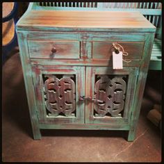 I am totally in love with this from Nadeau Furniture with a Soul in Dallas