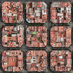 Barcelona's Cerda Plan from the air