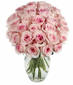 Light pink rose arrangement