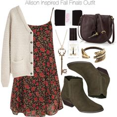 """Allison Inspired Fall Finals Outfit"" by veterization on Polyvore"