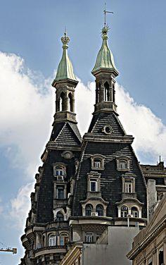 Las dos torres El Rey y la Reina | Cúpulas de Buenos Aires