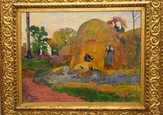 Paul GAUGIN, Les meules jaunes, en 1889