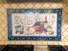 16 Wonderful Hand Painted Tiles For Kitchen Foto Ideas