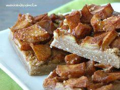 Apple Pie Cookie Bars {Gluten-Free, Vegan}