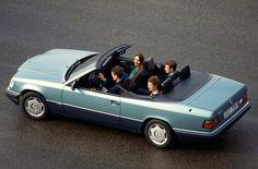 Jubiläum: Offene Fahrkultur seit 25 Jahren – das viersitzige Cabriolet der Baureihe 124