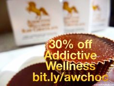GRATITUDE SALE //  ✨ 30% off ✨Nourish your vibrancy & delight your loved ones with the best chocolate in the universe: Addictive Wellness. Sweetened with stevia & xylitol, these revolutionary, scrumptious treats are chockfull of tonic herbs, medicinal mushrooms, and superfoods. Choose from 6 functions: Beauty, Tranquility, Energy, Focus, Love, She. ✨There's even a 100-pack 👀👀 These treats are for humans only; please keep away from dogs. ✨ Enjoy 30% off until midnight #cybermonday.