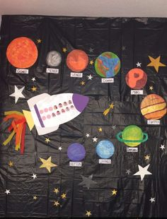 Solar system lapbook and interactive notebook activities. Solar System Projects For Kids, Solar System Crafts, Planets Preschool, Preschool Crafts, Space Theme Classroom, Elementary Science, Kindergarten Science, Science Classroom, Teaching Science