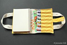 One of our favorite types of sewing projects is the organizer. They're the perfect projects to customize based on the size you need and the style you want.