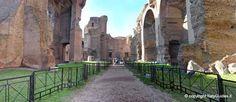 Internal overview of the baths  - Baths of Caracalla (Terme di Caracalla), Rome -