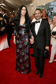 Marc Jacobs and his surprise guest, Cher, at the 2015 Met Gala. Click to see more red carpet style from this year's event. (Photo: Josh Haner/The New York Times)