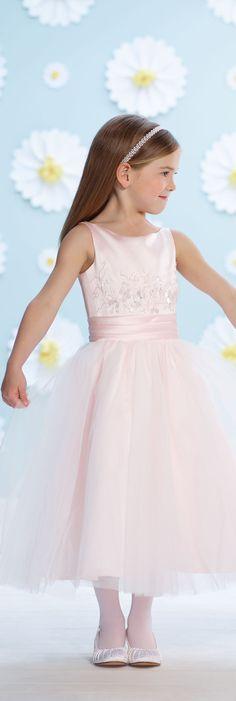 Joan Calabrese for Mon Cheri - Style No. 116393 #flowergirldresses