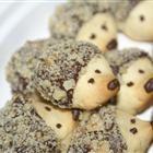 hedgehogs cookies