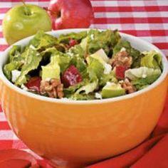 Apple-Feta Tossed Salad Allrecipes.com