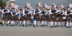 Taken at Festival Interceltique de Lorient 2014, this photograph of Major Sinclair Memorial Pipe Band from Ballyclare in Northern Ireland has been shared with us by Kim Harris. The festival was the first time the band had been abroad on a trip together, giving them the chance to make amazing memories and renew their passion for piping and drumming. Kim... [read more on our Facebook page: bit.ly/2aIJBhW)
