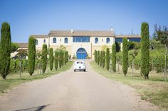 Get married in France - at a wine producing vineyard. You'll never go thirsty