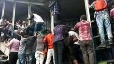 Mumbai: At least 22 dead, 30 seriously injured in stampede at Elphinstone railway station's foot over bridge Trending Hashtags, Watch News, Latest World News, Latest News Headlines, Latest Sports News, News Channels, Political News, Mumbai, At Least