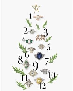 'Tis the season for sparkle and we've rounded up our 12 top picks for engagement rings to celebrate #ChristmasInCharleston on the blog. 💍🎄💍…