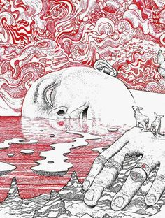 Cool Art Drawings, Art Drawings Sketches, Pretty Art, Cute Art, Arte Sketchbook, Hippie Art, Psychedelic Art, Surreal Art, Aesthetic Art
