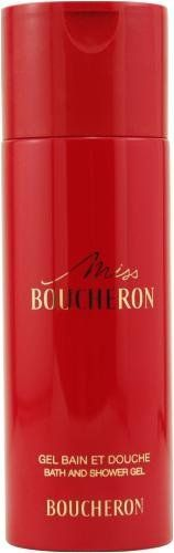 Boucheron Miss Boucheron By Boucheron For Women. Shower Gel 6.6 0z by Boucheron. $19.99. Packaging for this product may vary from that shown in the image above. Miss Boucheron by Boucheron 200ml 6.6oz Bath and Shower GelWhenapplyingany fragrance please consider that there are several factors which can affect the natural smell of your skin and, in turn, the way a scent smells on you. For instance, your mood, stress level, age, body chemistry,diet, and current medications m...
