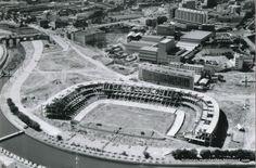 Historias matritenses: Estadio Vicente Calderón o Manzanares