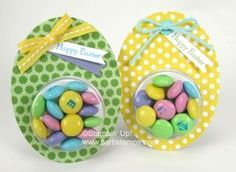 M&Ms Easter Eggs - Stampin IS my job!! Barb Mullikin Stampin Up! Demonstrator