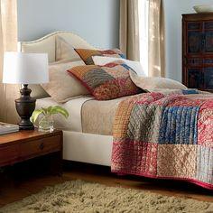 Mykonos Quilt, The Company Store. I love this! | Master Bedroom ... : the company store quilts - Adamdwight.com