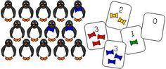 Math Ideas for Penguin Theme   P