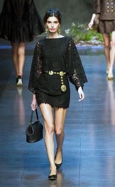Dolce e Gabbana... Little black dress