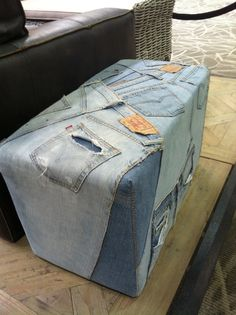 Etonnant Denim Furniture | Denim Sofa | My Style | Pinterest | Denim Sofa, Sectional  Couches And Denim Crafts
