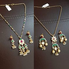 Image may contain: jewelry Gold Chain Design, Gold Jewellery Design, Bead Jewellery, Jewelery, Jewelry Necklaces, Baby Necklace, Simple Necklace, Necklace Set, Gold Necklace