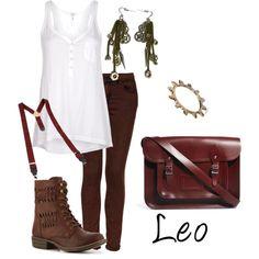 """Leo"" by idmiliris on Polyvore"