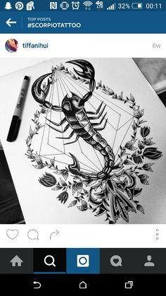 Coolest Scorpio tattoo